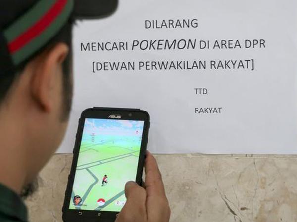 Makin Marak, Gedung DPR dan Istana Negara Akan Jadi Area Terlarang Main 'Pokemon Go'