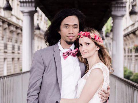Berkat Google Translator, Pria Asal Makassar Ini Berhasil Nikahi Bule Prancis