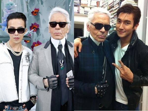 Deretan Selebriti Korea Ini Pernah Kerja Bareng Karl Lagerfeld