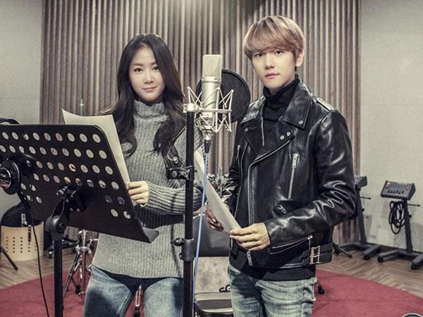 Resmi Rilis, Soyu Sistar dan Baekhyun EXO Galau Ingat Mantan di Lagu Duet 'Rain'