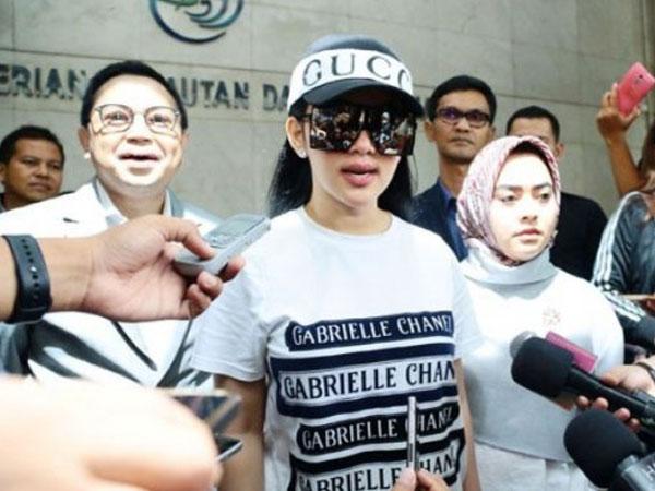 Kata Syahrini Soal Pernyataan Polisi Dapat Rp 1 Miliar dari First Travel