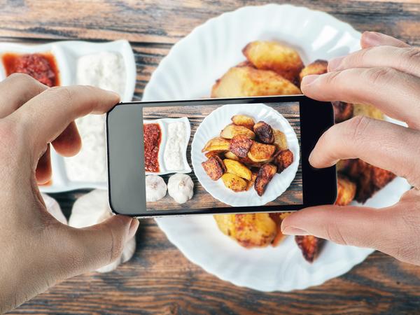 Tips Memotret Makanan yang 'Instagram-able' dengan Ponsel