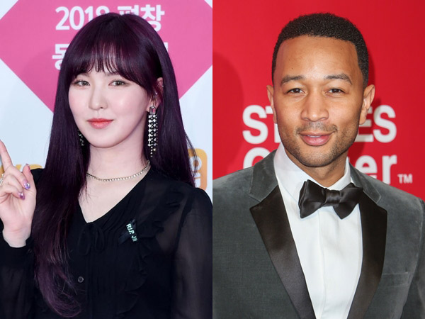 Wow, Wendy Red Velvet Bakal Kolaborasi Bareng John Legend!