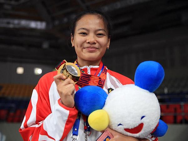 Profil Windy Cantika, Pemenang Medali Pertama Indonesia Di Olimpiade Tokyo 2020