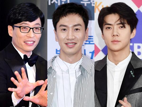 Terungkap Jadwal Tayang Variety Show Terbaru Yoo Jae Suk Hingga Sehun EXO, 'Busted'!