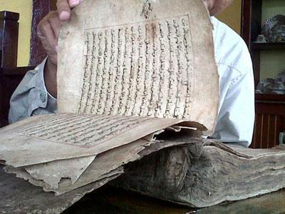 Indonesia Simpan Alquran 400 Tahun dari Kulit Onta