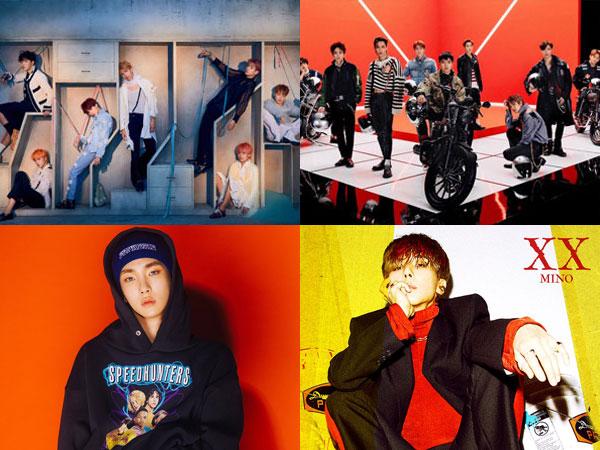 BTS dan EXO Bertahan, Key, Mino, dan NCT 127 Debut di Chart Billboard World Albums