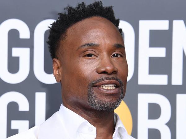 Gaya Unik Billy Porter Kembali Kenakan Gaun di Golden Globe 2020