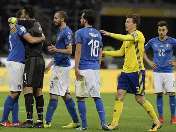 Tengok 5 Fakta Menarik Setelah Italia Gagal Lolos ke Piala Dunia 2018