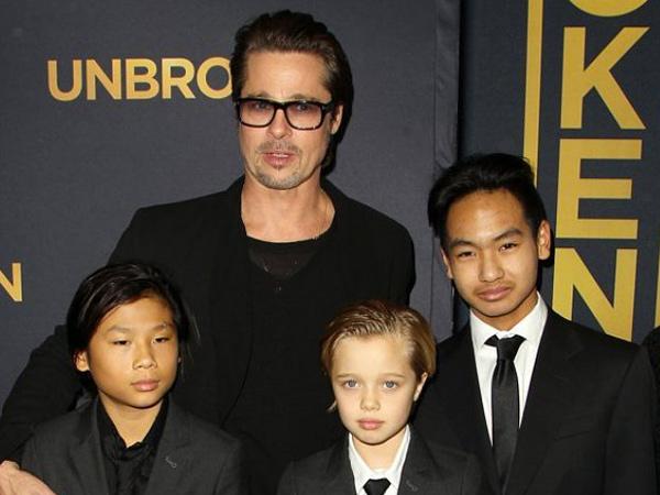 Proses Cerai dengan Angelina Jolie, Brad Pitt Akhirnya Bisa Temui Anak-anaknya
