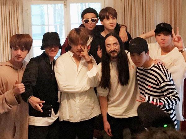 Selain The Chainsmokers, Steve Aoki Juga Siap Kolaborasi dengan BTS?