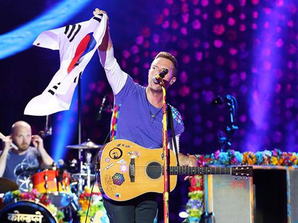 Konser di Korea Selatan, Coldplay Ikut Peringati Tragedi Tenggelamnya Kapal Sewol