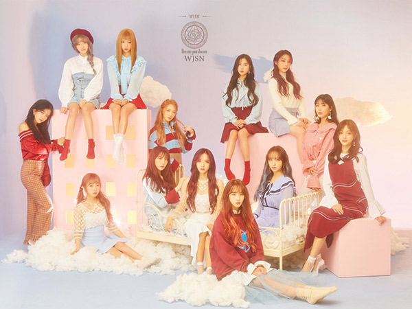Cantiknya Cosmic Girls Jadi Peri Pengabul Mimpi di MV Comeback 'Dreams Come True'