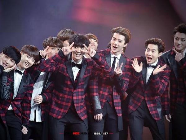 SM Entertainment Bocorkan EXO Tengah Bekerja Keras Untuk Album Baru