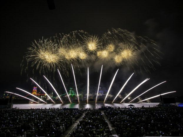 Kota Cahaya dan Api Di Korea Selatan? Ada di Pohang International Fireworks Festival