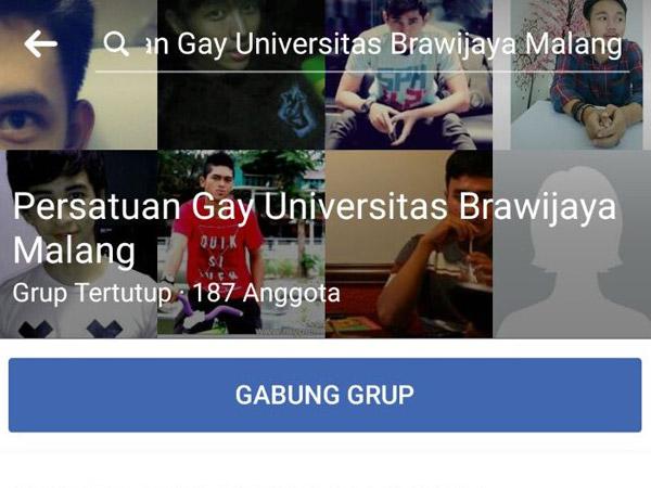 Heboh Muncul Grup Facebook Gay Universitas Brawijaya, Ini Sederet Peraturannya
