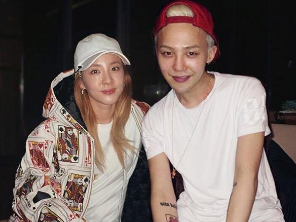 Tak Hanya Peluk, G-Dragon Juga Nampak Cium Sandara Park Usai Konser?