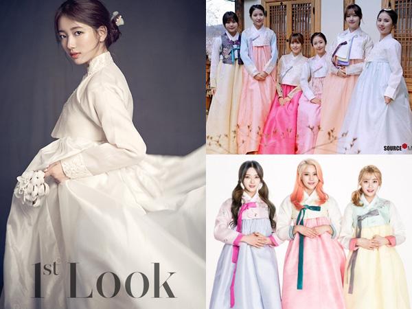 Happy Lunar New Year! Intip Hanbok Cantik Para Idola K-Pop Ini Yuk