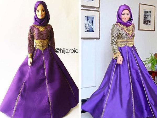 Setelah Atlet, Kini Giliran Dian Pelangi Disulap Jadi Barbie oleh Hijabers Nigeria!