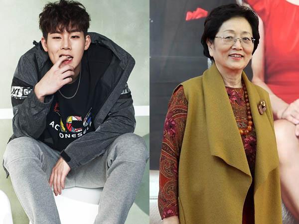 Aksi Duet Rap Jooheon Monsta X dan Aktris Lansia Ini Sukses Buat Haru Penonton