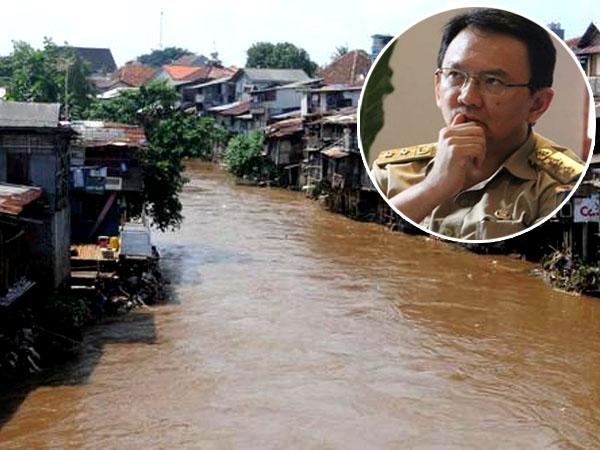 Ahok Minta PAM Olah Air Limbah Kali Ciliwung Jadi Air Bersih