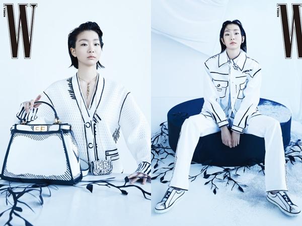 Bedah Fashion Outfit 2D yang Dikenakan Kim Da Mi dalam Majalah W Korea