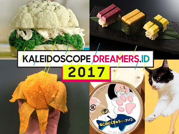 Serangkaian Kuliner Unik yang Mewarnai Tahun 2017
