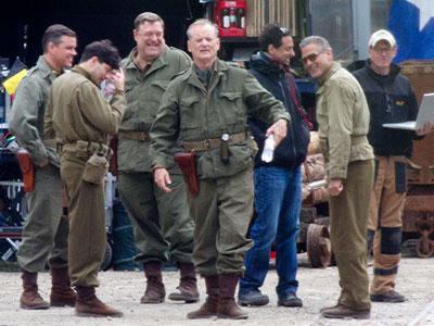 Matt Damon dan George Clooney Duet Selamatkan Benda Seni dalam Film Terbaru