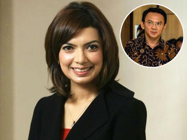 Begini Tanggapan Najwa Shihab Saat Membaca Surat dari Ahok