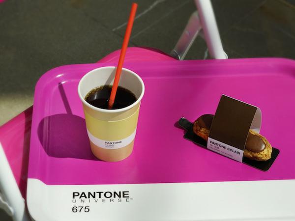 Unik, Kafe Pop-up Ini Gunakan Indeks Warna Sebagai Konsepnya