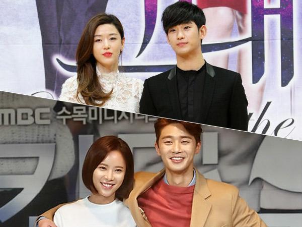 'Jodoh', Sederet Aktor-Aktris Korea Ini Lebih Dari Sekali Berperan Sebagai Pasangan!