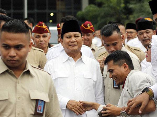 Bocoran Pidato 'Indonesia Menang' Prabowo: Ada Kemungkinan Mundur dari Pilpres 2019