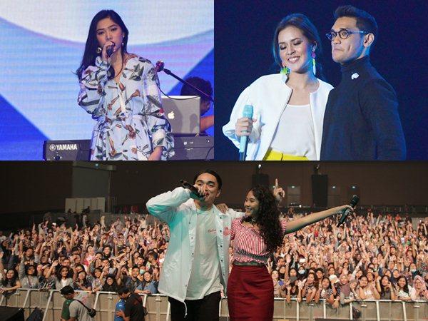 Belum Move On, Intip Lagi Keseruan Aksi Musisi Ternama Indonesia di 'Spotify On Stage'!