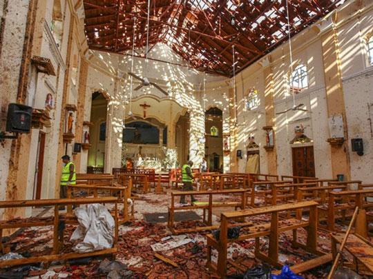 Pemerintah Sri Lanka Tangkap 40 Orang Tersangka Bom, Jumlah Korban Tewas Bertambah