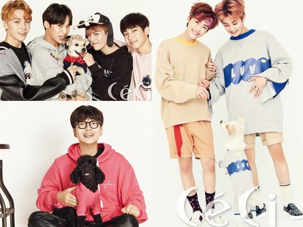 Seventeen, Lee Dong Hwi, dan NCT Dream Jadi Model Baru Kampanye Perlindungan Hewan