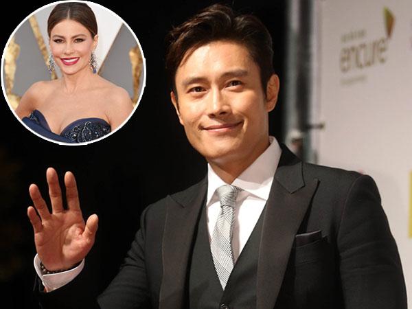 Sofia Vergara Unggah Foto Gladiresiknya Bersama Lee Byung Hun di Oscar 2016!