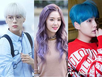 Inilah 6 Warna Rambut yang Diprediksi Jadi Tren Idola K-Pop di Tahun 2019