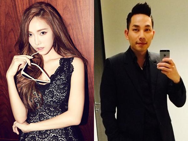 Jessica Jung dan Tyler Kwon Terlihat Nonton Pertandingan Tinju Bersama di Macau!