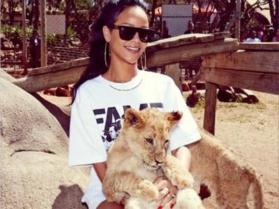 Intip Cara Manis Rihanna Habiskan Waktu Di Afrika Selatan!