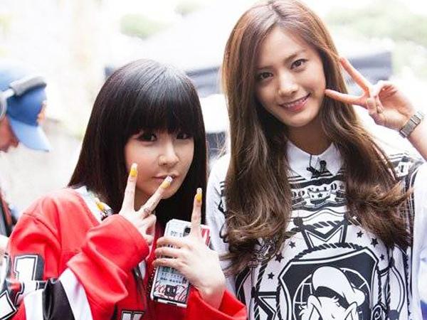 Persahabatan Park Bom 2NE1 dan Nana After School Buat Produser Kaget