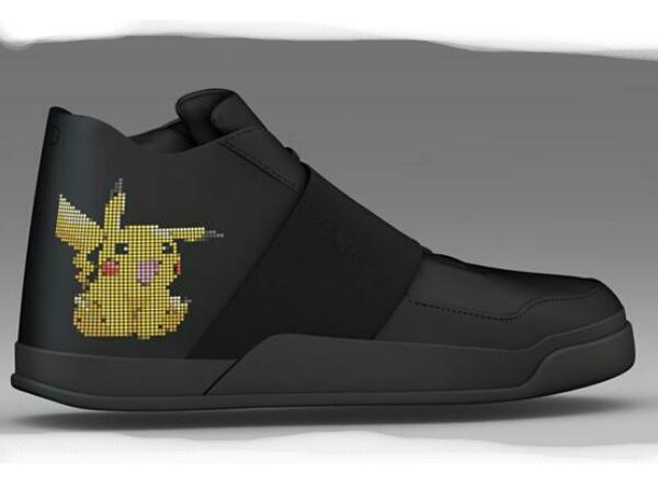Kini Berburu Pokemon Lebih Mudah dengan Sneakers Pintar