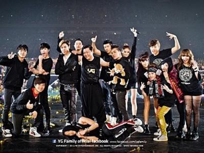Artis YG Entertainment Dominasi World Music Awards 2013!