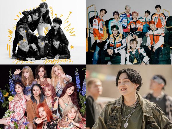 7 Artis K-Pop Tempati Posisi di Chart Billboard World Albums Minggu Ini