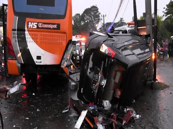 Kondisi Bus Penyebab Kecelakaan Beruntun Puncak Memang Tak Layak Jalan?