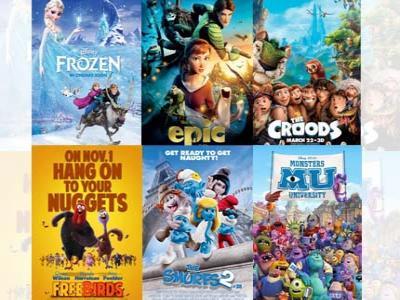 Kaleidoskop 2013: Inilah Film Animasi Terbaik Selama Tahun 2013!