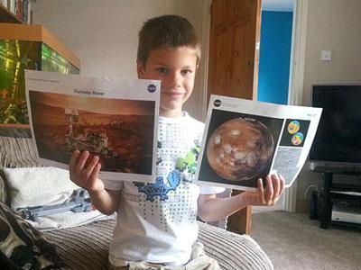 Ingin Ke Antariksa, Bocah 7 Tahun Disurati NASA