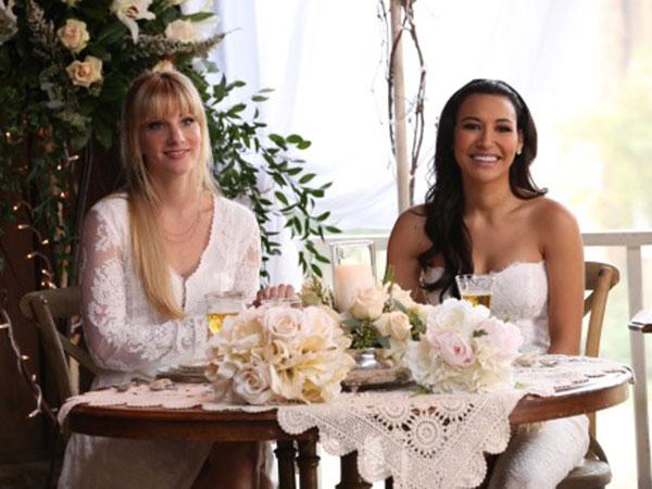 Glee: Santana dan Brittany Siap Gelar 'Pernikahan Tahun Ini'