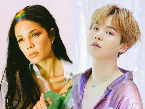 Kolaborasi Sentimental Halsey dan Suga BTS di Lagu 'SUGA's Interlude'
