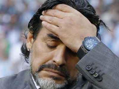 Maradona Takut ke Italia Karena Tunggak Pajak