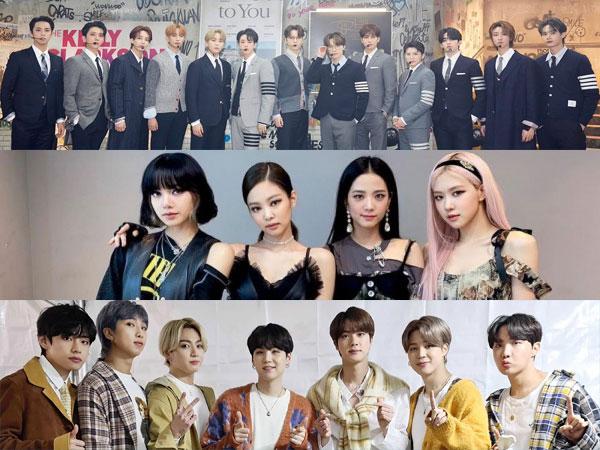 Bintang K-Pop Paling Dinantikan Tahun 2021 Pilihan Pakar Industri Hiburan